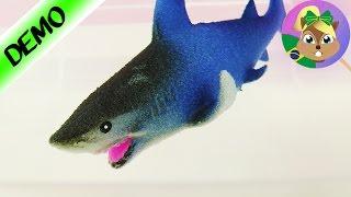 TUBARÃO GIGANTESCO na água - Ginormous Grow Shark | ENORME TUBARÃO PARA BANHEIRA