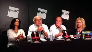 Paco Bandeira como orador na Fnac de Cascais