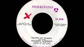 Rolando Alphonso - Sounds Of Silence (Simon & Garfunkel Cover)