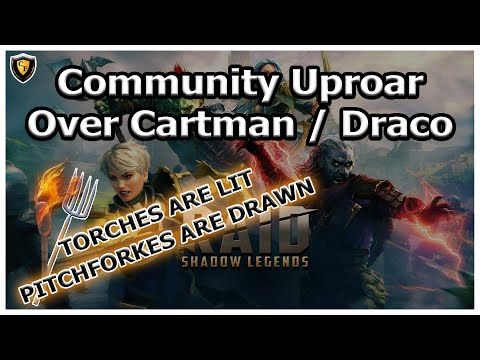 RAID Shadow Legends | COMMUNITY UPROAR | Cartman Given Draco cuz of rage?!