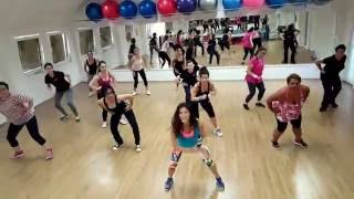 "Chainsmokers - ""Don't Let Me Down"" Zumba Fitness Choreography"