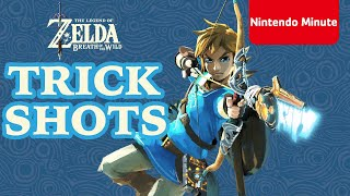 """Nintendo Minute - \""""The Legend of Zelda: Breath of the Wild - Can YOU make these trick shots"""