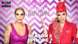 RuPaul's Drag Race Fashion Photo RuView with Raja and Raven