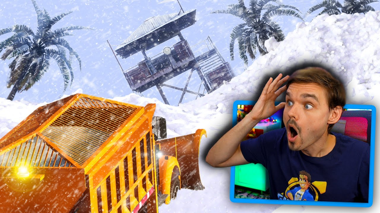 GMAntonZ - In GTA 5... Digging out Cayo Perico from a MASSIVE snowstorm! (Mods) #GTA5Mods
