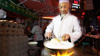 Muslim Chinese Street Food Tour in Islamic China | BEST Halal Food and Islam Food in China width=