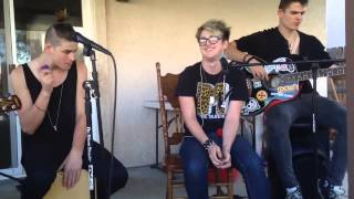 Dalton and False Puppet performing Zero Gravity (by IM5) cover
