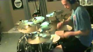 Linkin Park - In The End (drumless track) drum cover