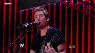 Nickelback Live - When We Stand Together(WWE Tribute To The Troops 2011 Live)