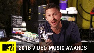 Calvin Harris Wins Best Male Video | 2016 Video Music Awards | MTV