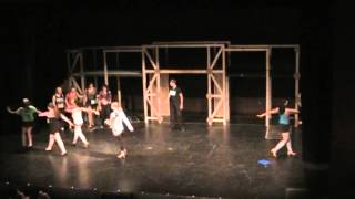 Chorus Line Opening Staged by Danielle Hannah Bensky for Stagedoor Manor
