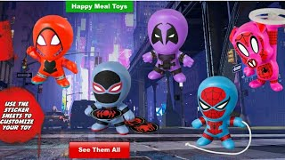Juguetes Spiderman un nuevo universo en la cajita feliz de McDonald's