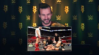Adam Cole watches his NXT debut at TakeOver: Brooklyn III: WWE Playback