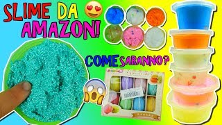 SLIME CINESI COMPRATI DA AMAZON! COME SARANNO? Iolanda Sweets