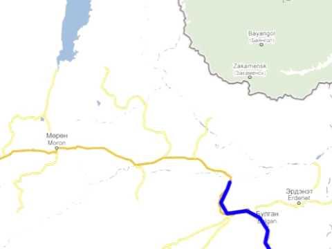 Itinéraire France Mongolie 2009 en fourgon aménagé