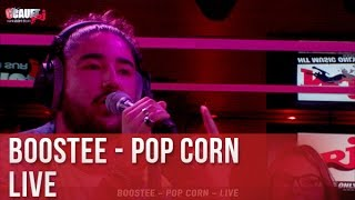 Boostee - Pop corn - Live - C'Cauet sur NRJ