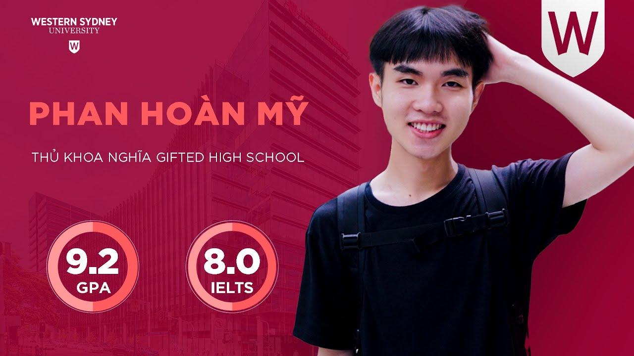 PHAN HOÀN MỸ – GPA 9.2, IELTS 8.0 – THPT CHUYÊN THỦ KHOA NGHĨA, AN GIANG