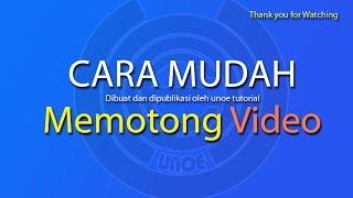 CARA MEMOTONG VIDEO DENGAN AVS EDITOR