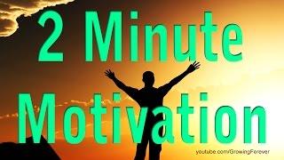 2 Minute Motivator, Attract Wealth Success Abundance Prosperity Money Motivational Video #6