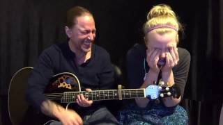 Steve Stine and his daughter Lanee - Funny Fail Video