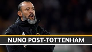 Nuno reacts to the defeat to Spurs