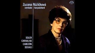 Carlos Seixas: Toccata in F minor - Zuzana Ruzickova, harpsichord