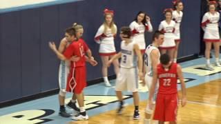 Minerva Lions at Louisville Leopards Boys Varsity Basketball Highlights 2 7 2017