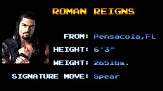 Arcade Wrestling Themes - Roman Reigns - The Truth Reigns (CPS1)