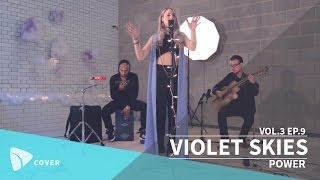 VIOLET SKIES - Power (Kanye West cover) | TEAfilms Live Sessions