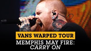Memphis May Fire performs 'Carry On' at the Vans Warped Tour Lineup Announcement | Full Sail