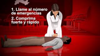 Vídeo instructivo de RCP usando solo las manos de la American Heart Association