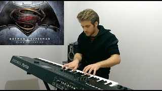 "Batman v Superman Soundtrack: ""Beautiful Lie"" - Piano Cover - Görkem Ağar"