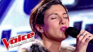 The Voice 2012 | Maureen Angot - Maniac (Michael Sembello) | Blind Audition
