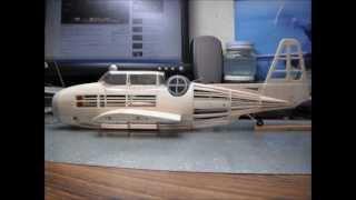 Rubber Powered GRUMMAN TBF-1C AVENGER