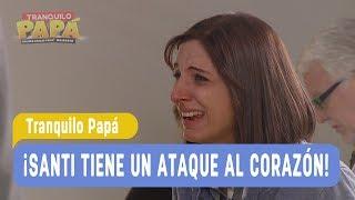 Tranquilo Papá - ¡Santi tiene un ataque al corazón! - Santiago y Madonna / Capítulo 60