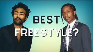 Best Freestyle? (Childish Gambino/J. Cole/A$AP Rocky/Kendrick/Logic/Mac Miller/Tyler, The Creator)
