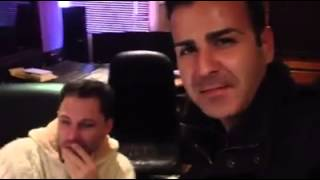 """André Letra em estúdio com o Ménito Ramos em estúdio! a gravar o Vosso álbum, """"Este sou mesmo eu"""""""