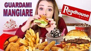 FAST FOOD MUKBANG 🍟🍕🍦WATCH ME EAT ROADHOUSE !!!