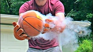 Don't Put Basketball in Liquid Nitrogen