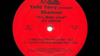 Todd Terry 'It's Over Love' (Loop Da Loop Dark Crystals Mix) *Casa Loco / Niche*