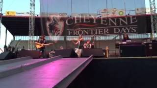 Brule concert July 19, 2015 @ Cheyenne Frontier Days