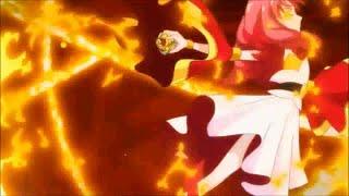 Go! Princess PreCure Cure Scarlet Transformación