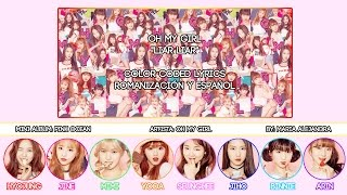 "OH MY GIRL (오마이걸) ""Liar Liar"" [COLOR CODED] [ROM