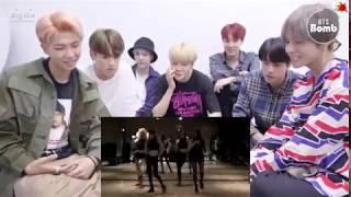 BTS reaction to Blackpink - Dance Debut