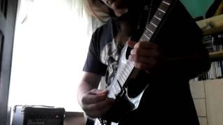 Amon Amarth - Death in Fire (Solo cover)