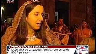 Reportagem da TVI24 sobre a Procissão da Burrinha