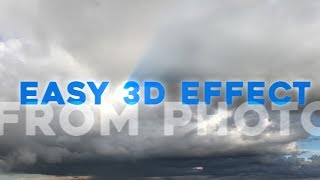 3D clouds from photo