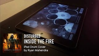 "iPad Drum Cover ""Disturbed - Inside The Fire"""
