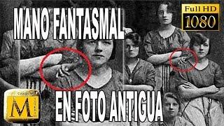 Descubren Mano Fantasmal En Antigua Fotografía