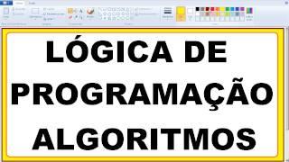 Curso de Scilab LÓGICA DE PROGRAMAÇÃO Aula sobre CONCEITO DE ALGORITMOS