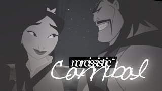 Narcissistic Cannibal ( Shan Yu x Mulan (feat Shang